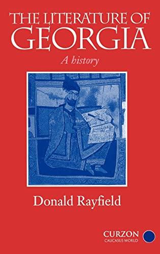 9780700711635: The Literature of Georgia: A History (Caucasus World)