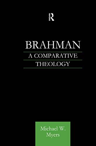 9780700712571: Brahman: A Comparative Theology