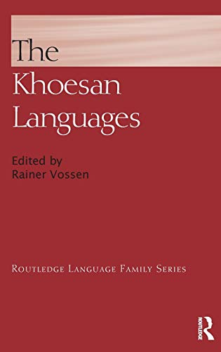 The Khoesan Languages: Vossen, Rainer