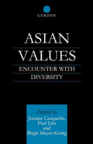 9780700713240: Asian Values: Encounter with Diversity