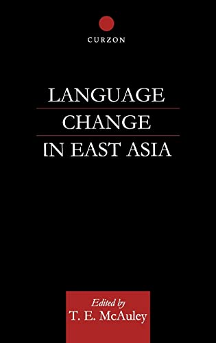 9780700713776: Language Change in East Asia