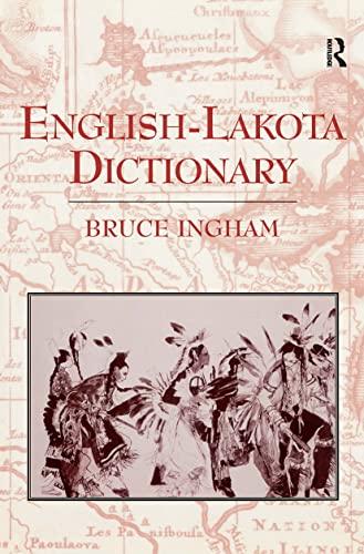 9780700713783: English-Lakota Dictionary