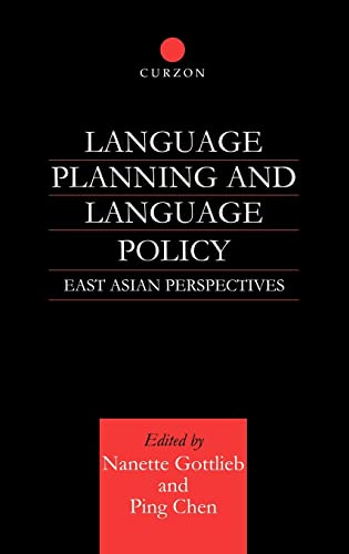 9780700714681: Language Planning and Language Policy: East Asian Perspectives
