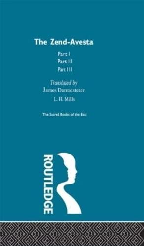 9780700715435: The Zend Avesta (Sacred Books of the East) (Volume 25)