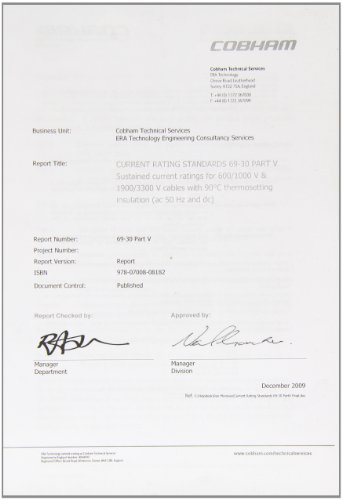 9780700803958: Current Rating Standards for Distribution Cables: Pt. 5
