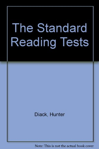 9780701000745: The Standard Reading Tests