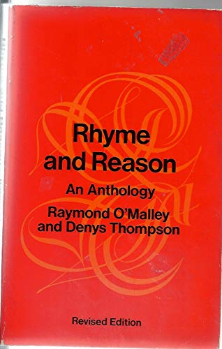 9780701006310: Rhyme and Reason (Queen's Classics)
