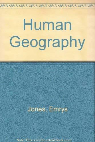 Human Geography: Jones, Emrys