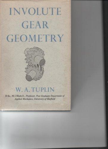 9780701111670: Involute Gear Geometry