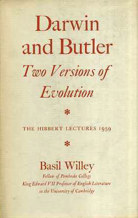 9780701112066: Darwin and Butler - Two Versions of Evolution (The Hibbert Lectures 1959)