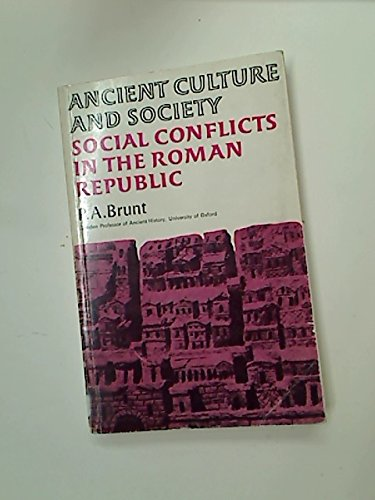9780701116316: Social Conflicts in the Roman Republic (Ancient Culture & Society)