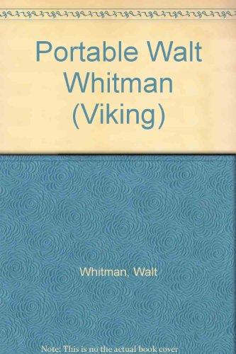 9780701117788: Portable Walt Whitman (Viking)