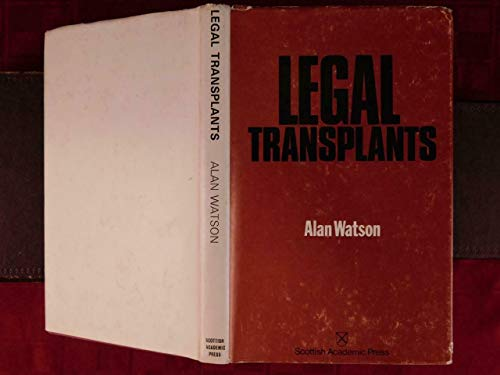 9780701120313: Legal transplants: An approach to comparative law