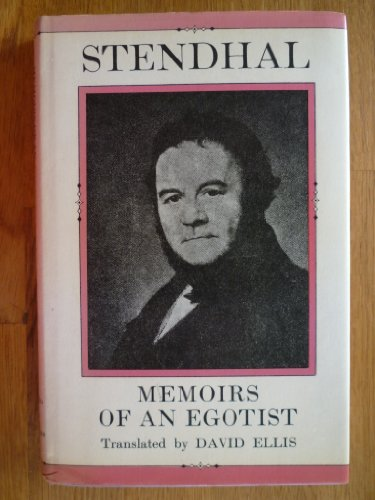 Memoirs of an Egotist (English and French: Stendhal