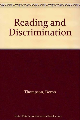 9780701123604: Reading and Discrimination
