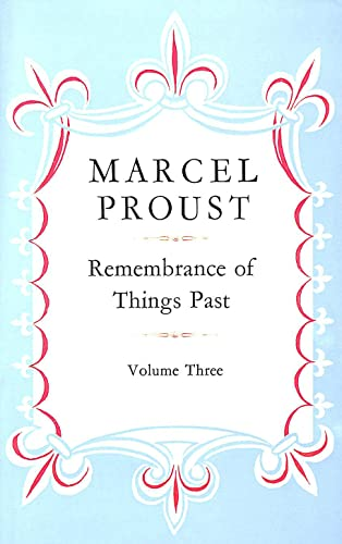 REMEMBRANCE OF THINGS PAST (3-VOLUME SET IN: Marcel Proust