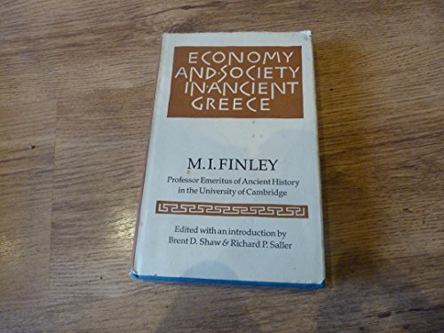 9780701125493: Economy and Society in Ancient Greece