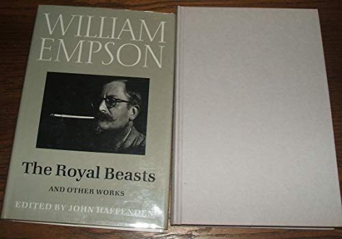 9780701130848: The Royal Beasts and Other Works