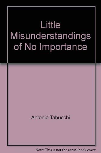 9780701132255: Little Misunderstandings of No Importance