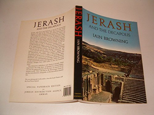 9780701135140: Jerash and the Decapolis