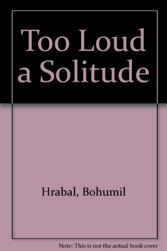9780701137731: Too Loud a Solitude