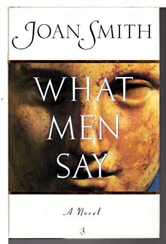9780701157937: What Men Say