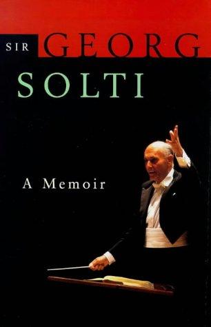 9780701166304: Solti on Solti: A Memoir