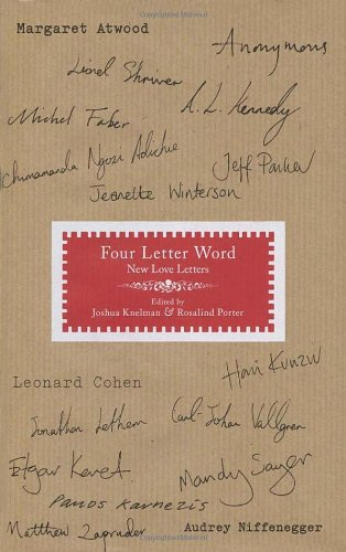 9780701180935: Four Letter Word: New Love Letters