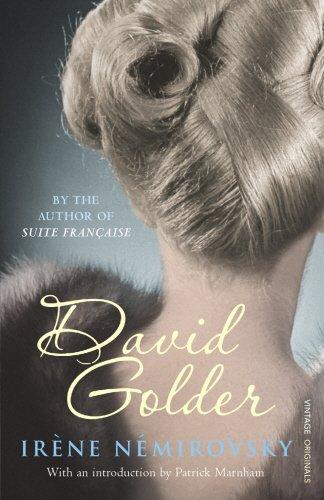 9780701181291: David Golder