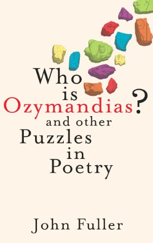 9780701184575: Who Is Ozymandias?: And Other Puzzles in Poetry