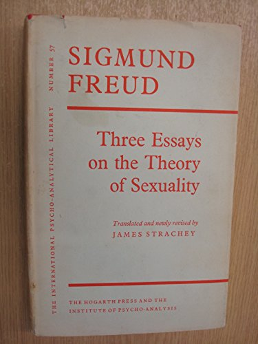 9780701201241: Three Essays on Theory of Sexuality (International Psycho-Analysis Library)