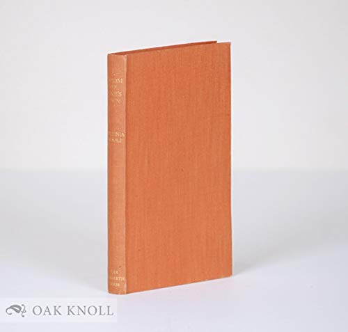 Room of One's Own [Import] [Hardcover] by: Virginia Woolf