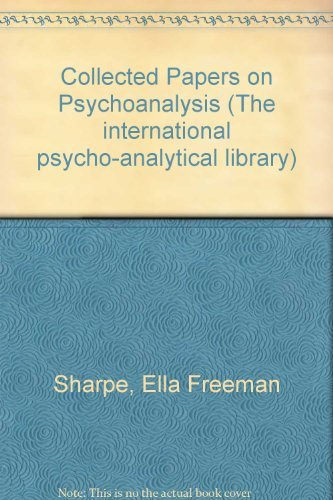 9780701203092: Collected Papers on Psychoanalysis (The international psycho-analytical library)