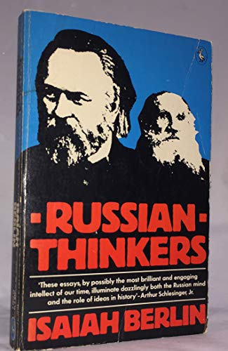 9780701204389: Russian Thinkers