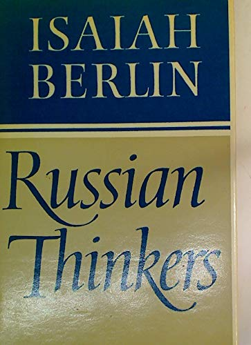 Russian Thinkers: Isaiah Berlin,Henry Hardy