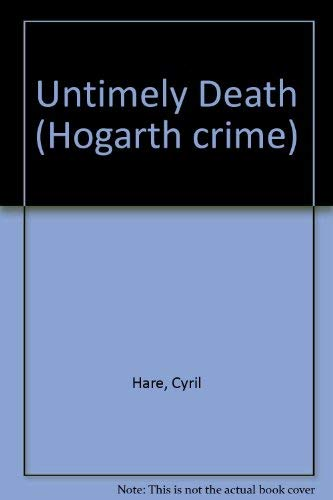 9780701206499: Untimely Death : An Inspector Mallett and Francis Pettigrew Mystery
