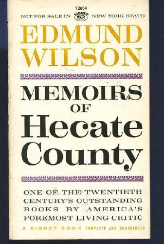 9780701206659: Memoirs of Hecate County