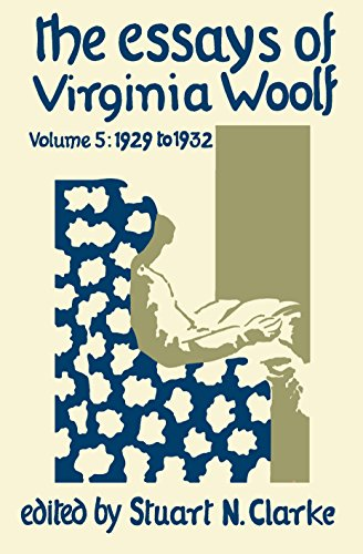 9780701206703: The Essays of Virginia Woolf, Vol, 5: 1929 to 1932 (v. 5)