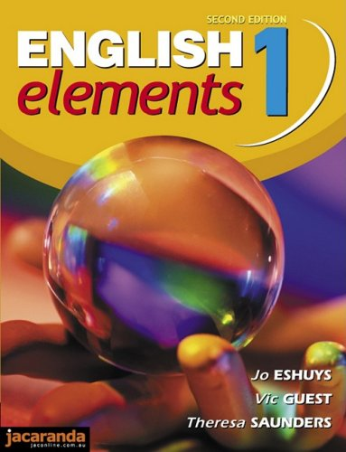 9780701635039: English Elements 1 2e: For the National Profiles and the Curriculum and Standards Framework