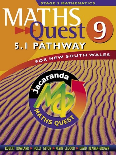 9780701636869: Maths Quest 9 for New South Wales 5.1 Pathway & EBookPLUS (Maths Quest for New South Wales Junior Series)