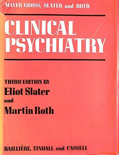 Clinical Psychiatry: etc., Gross, W.Mayer-