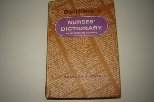 9780702002717: Nurses' Dictionary