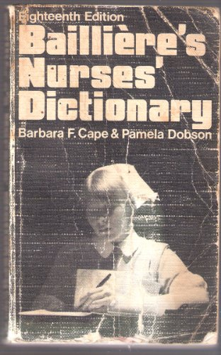 9780702005183: Nurses' Dictionary