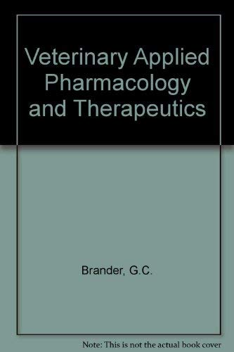 9780702006579: Veterinary Applied Pharmacology and Therapeutics