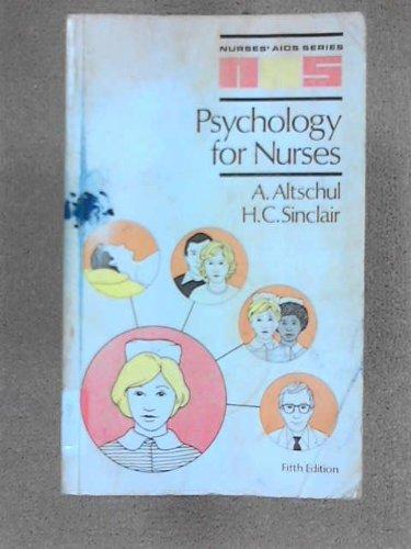 9780702008481: Psychology for Nurses (Nurses' Aids)