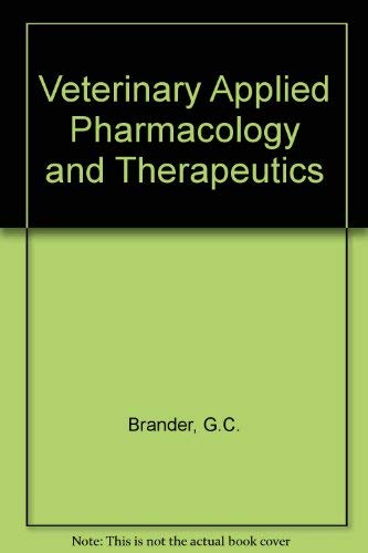 9780702008719: Veterinary Applied Pharmacology and Therapeutics
