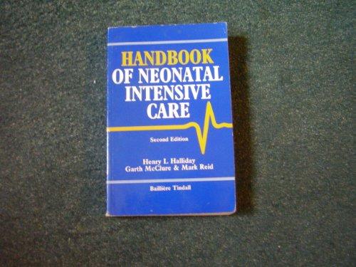 9780702010668: Handbook of Neonatal Intensive Care