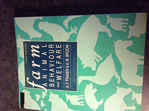 9780702011344: Farm Animal Behaviour and Welfare
