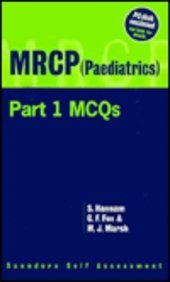 9780702018756: MRCP (Paediatrics) PT. 1: McQ's (Saunders Self Assessment)
