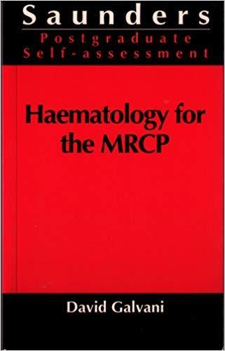 9780702018831: Haematology for the Mrcp: Part 2 (Saunders self assessment)